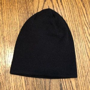 07f14b050be BDG Accessories - Black ribbed stretchy beanie from urban outfitters